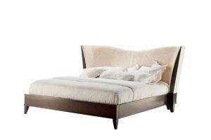 Vendome Bett, Bett mit umhüllenden Kopfteil