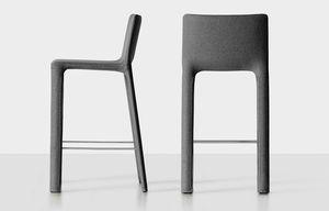 Joko stool, Hocker komplett mit Stoff bezogen