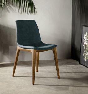 ARALIA, Stuhl mit weichen und eleganten Linien