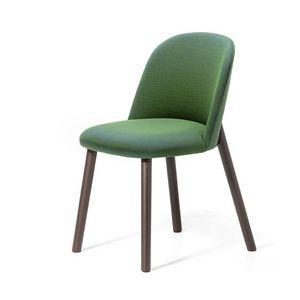 Doc, Stuhl aus Eschenholz, mit feuerfester Polsterung, weich und bequem