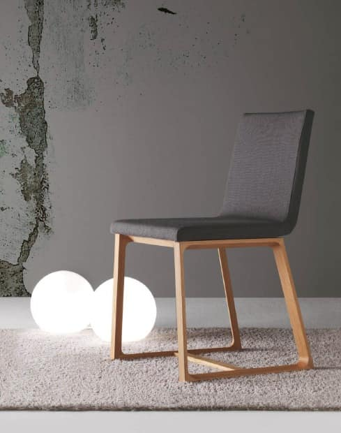essen holzstuhl gepolstert abnehmbarer deckel idfdesign. Black Bedroom Furniture Sets. Home Design Ideas