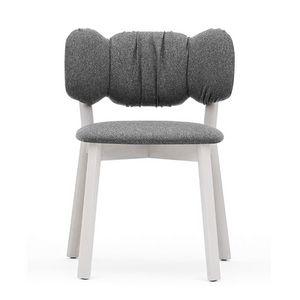 Mafleur 04213, Gepolsterter Stuhl aus Holz