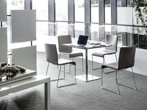 m bel st hle zeitgen ssisch metall gepolsterter sitz. Black Bedroom Furniture Sets. Home Design Ideas