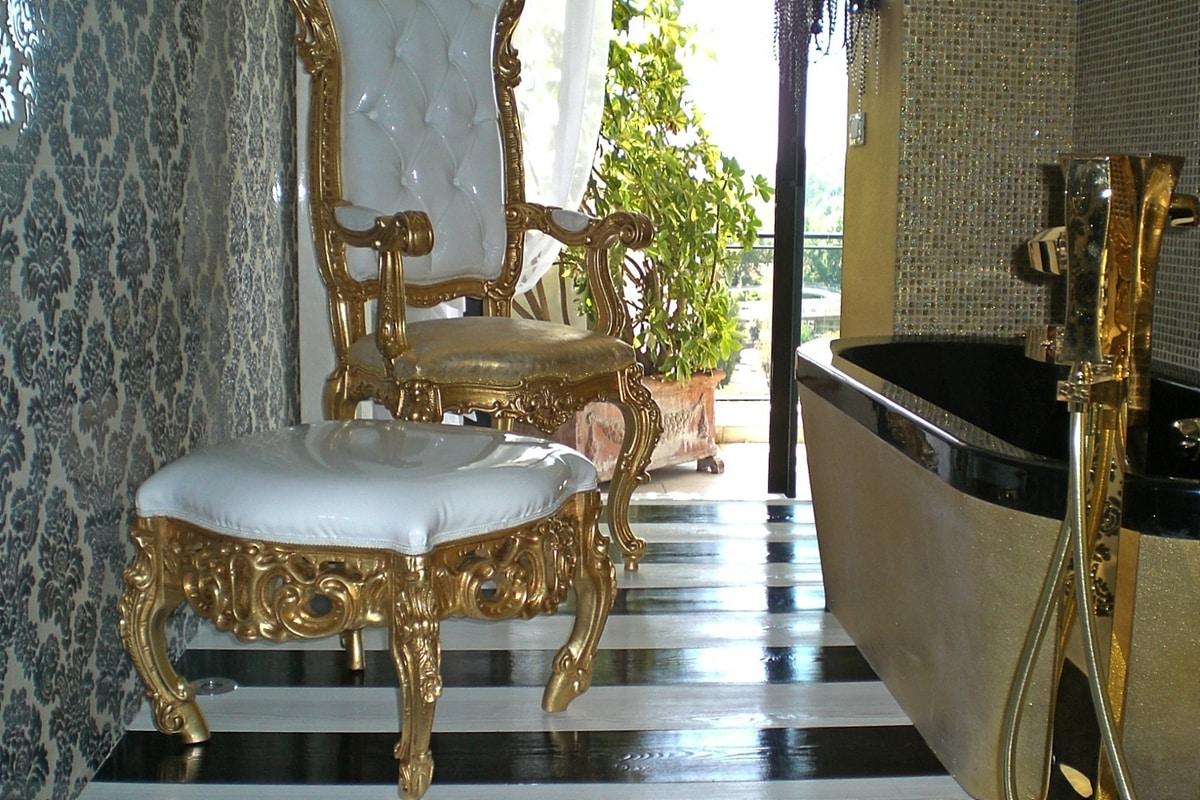 Luxus klassischen Puff für das Haus, Barock | IDFdesign