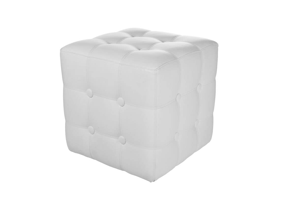modern gesteppte hocker f r sitzgelegenheiten idfdesign. Black Bedroom Furniture Sets. Home Design Ideas