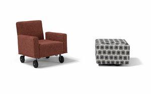 QQ, Hocker Cabrio in einen Sessel