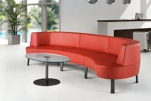 ZEN 731 - 732, Moderne modulare Sofa ideal für Bars und Hotels