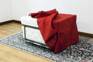 Hocker Bett, Puff in ein Einzelbett umwandelbar