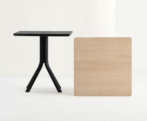 ART. 480 PECK, Massivholz Tisch für Restaurant und Bar