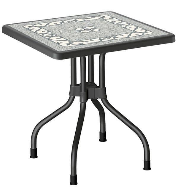 Ribalto Top, Gartentisch mit klappbarer Platte