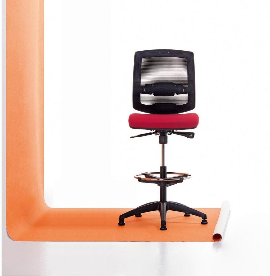 New Malice Stool 01, Ergonomischer Bürohocker