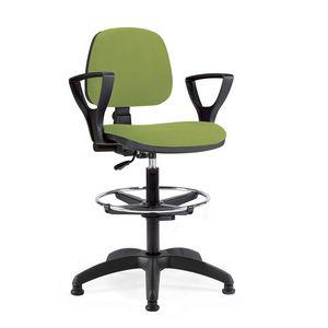 UF 307 Sgabello, Operative Stuhl mit Armlehnen ideal für den Empfang