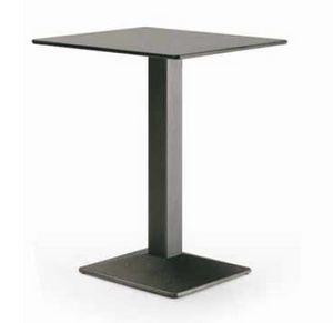 art. 4560-Quadra, Tisch für Restaurant, mit quadratischem Oberteil