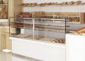 Revolution - Theke mit Vitrine für Bäckerei, Bakery Counter mit Vitrine