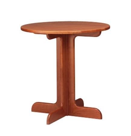 602, Kleinen runden Tisch in Buche, Quer Base, Pubs und Bars