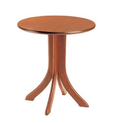 604, Runden Tisch für Bars und Restaurants, mit Buchen Basis