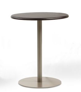 BASIC 855, Runder Tisch mit Metallgestell