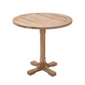 Regista 0701, Runder Tisch mit einem Bein für den Außenbereich