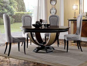 Oliver Art. OL05/160, Runder Tisch für elegante Esszimmer