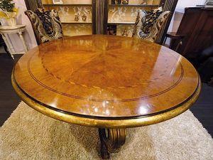Royal  Tiche, Runder Tisch für klassische Esszimmer