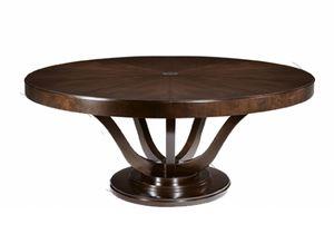 Victoria Tiche, Runder Tisch mit klassischem Stil