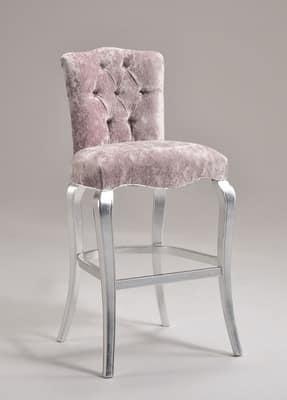 einfacher holz barhocker royal barhocker 8494b. Black Bedroom Furniture Sets. Home Design Ideas