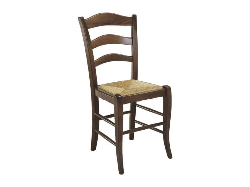 105, Rustikal Stuhl mit Sitzfläche, für Wohnzwecke