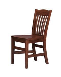 R11, Stuhl aus Massivholz, für den Objektbereich
