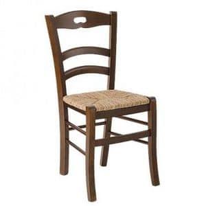 Savoy foro, Rustikal Stuhl mit Sitzfläche für Bauernhof Restaurant