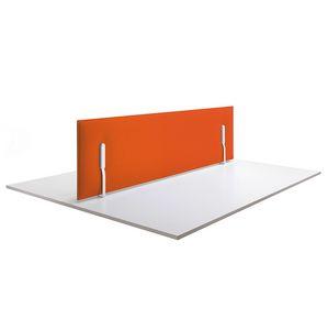 Mitesco desk, Schallschluckende Paneele für den Schreibtisch