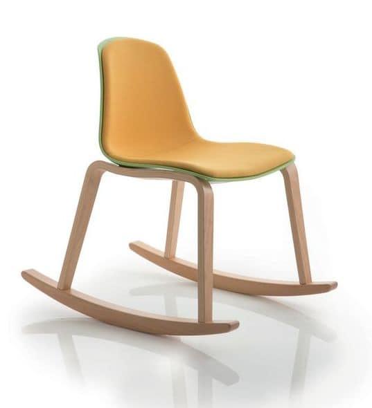 moderner schaukelstuhl ideal f r relax zone idfdesign. Black Bedroom Furniture Sets. Home Design Ideas