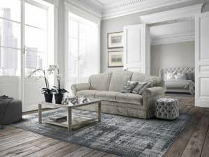 Giacomo, Sofa mit oder ohne Rüschen