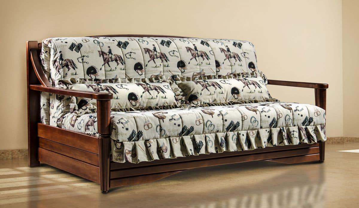 schlafsofa im landhausstil umweltfreundliche verschiedene gr en idfdesign. Black Bedroom Furniture Sets. Home Design Ideas