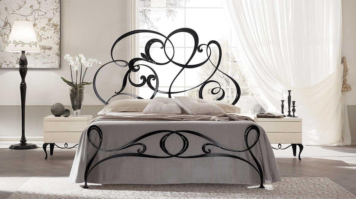 Eisen handmade Doppelbett, im modernen Stil | IDFdesign