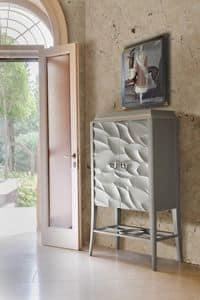 Art. VL444F, Kabinett für den Wohnbereich, anpassbare Holz