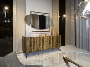 ATENA Anrichte GEA Collection, Sideboard mit abgerundeten Formen