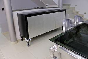 Cube, Schrank mit mit Push & Pull-Türen, für Wohnzimmer