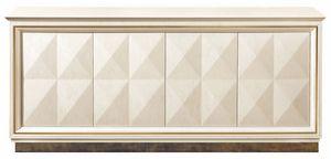 Diamante Sideboard mit Metallsockel, Sideboard mit Metallgestell
