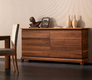 Elettra Art. EL102, Sideboard aus Holz mit 2 Türen und 2 Schubladen