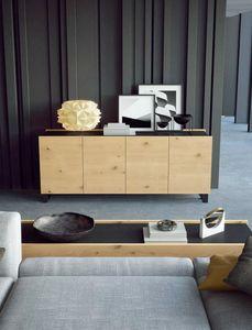 Ironwood Sideboard Jupiter Eiche, Moderne Sideboards mit Eichentüren