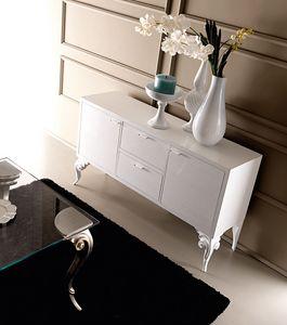 Keope Art. 406, Elegantes Sideboard aus Holz