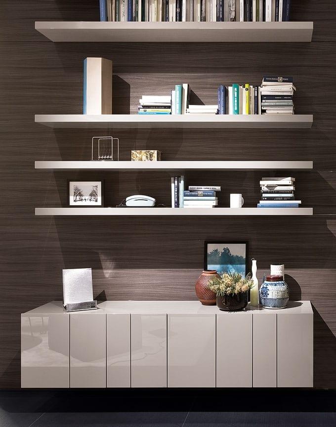 design seitenschrank front mit modulare lamellen idfdesign. Black Bedroom Furniture Sets. Home Design Ideas