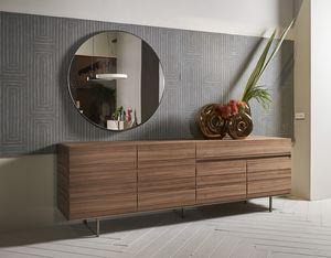 STRIPE Anrichte comp.02, Sideboard mit minimalem Design