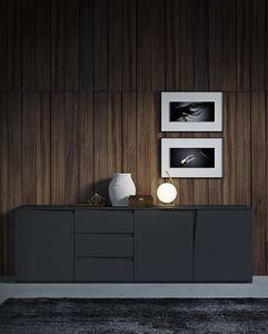VELA Sideboard comp.01, Modernes Design-Sideboard, mit Schubladen und Türen