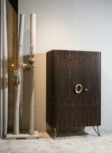 ZEUS Barschrank GEA Collection, Barschrank, gekennzeichnet durch die Verwendung natürlicher Texturen