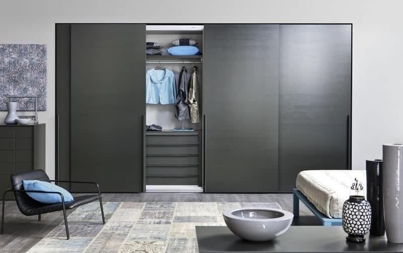 Mobile Schrank Garderobe : alfa schiebet rbeschl ge kleiderschrank garderobe idfdesign ~ Frokenaadalensverden.com Haus und Dekorationen