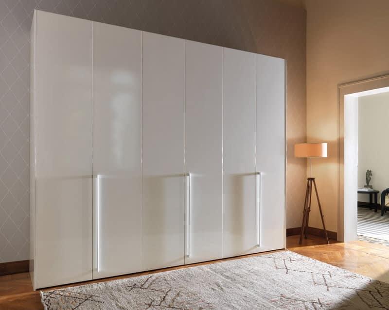 Schiebe Kleiderschrank Weiß : HOME P11 Design Produkte Lagerung Schränke Kleiderschränke modern