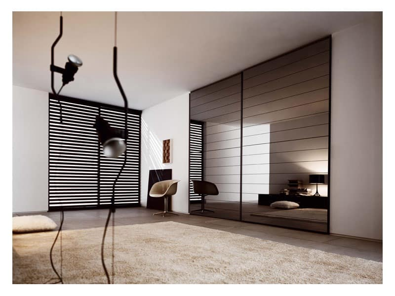 crystal schiebet r 2 modularer schr nke garderobe idfdesign. Black Bedroom Furniture Sets. Home Design Ideas