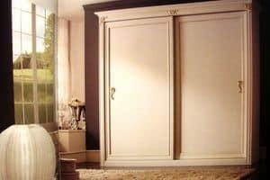Iride, Kleiderschrank mit 2 Schiebetüren für Luxusresidenzen