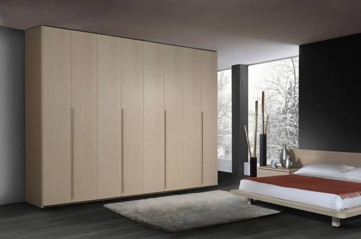 moderner kleiderschrank aus holz 6 fl gelt ren f r schlafzimmer idfdesign. Black Bedroom Furniture Sets. Home Design Ideas